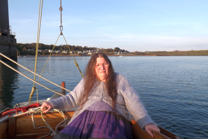 Shan sailing at 70